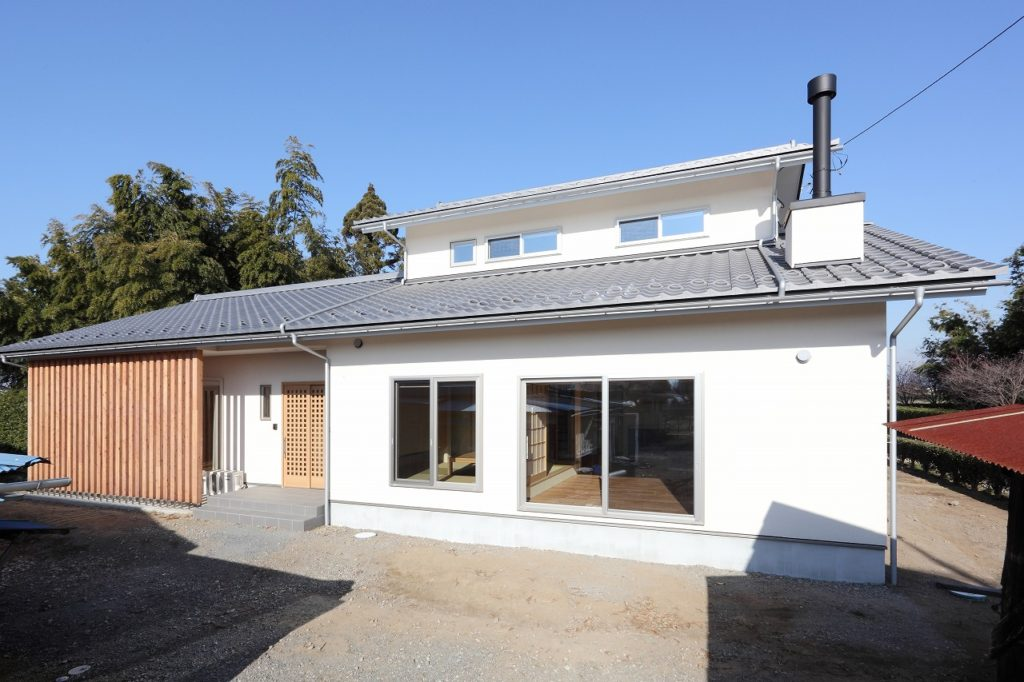 太田市 薪ストーブのある長期優良住宅
