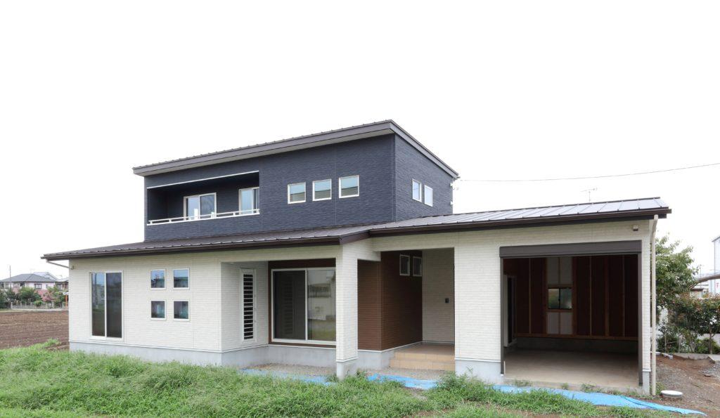 伊勢崎市 ガレージのある新築住宅