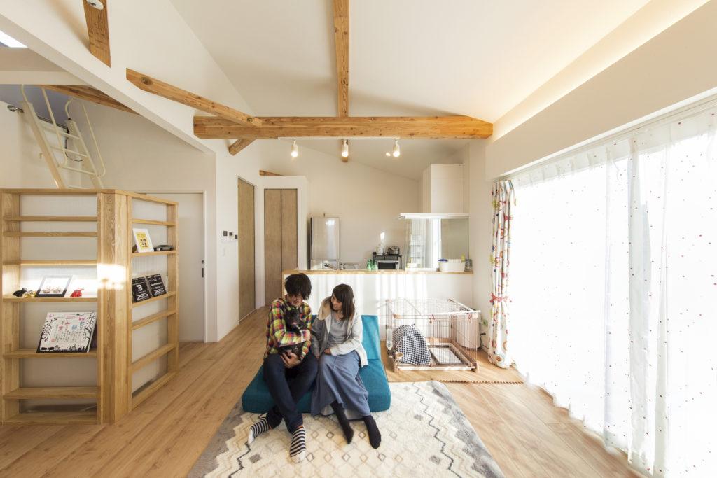 伊勢崎市 暮らし楽しむ大収納のある家