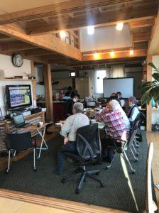 伊勢崎 マイホーム・ラボにてTV会議をしました。