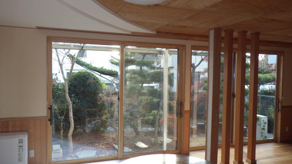 和風(和室2間)から洋風(大広間)へのリノベーション  ㈱春川建設
